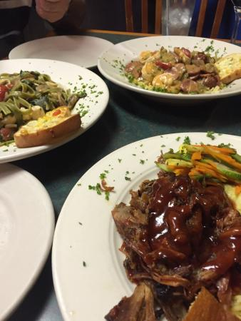 Some of the delicious dishes served here picture of for Authentic cajun cuisine