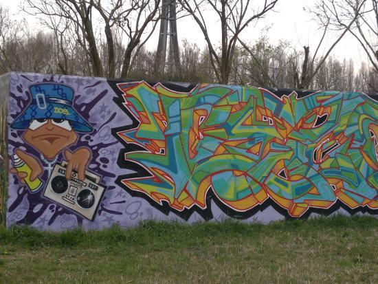 Parco Albanese: Graffiti, murales per un tocco urban