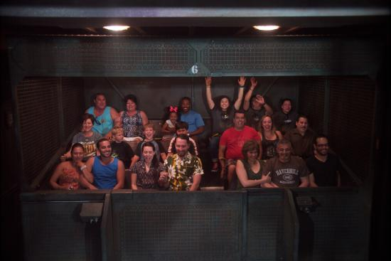 INSIDE RIDE...CRAZY FUN! - Picture of The Twilight Zone ...