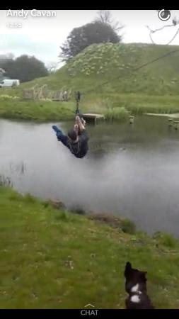 Oldcastle, Irlanda: Zip Wire