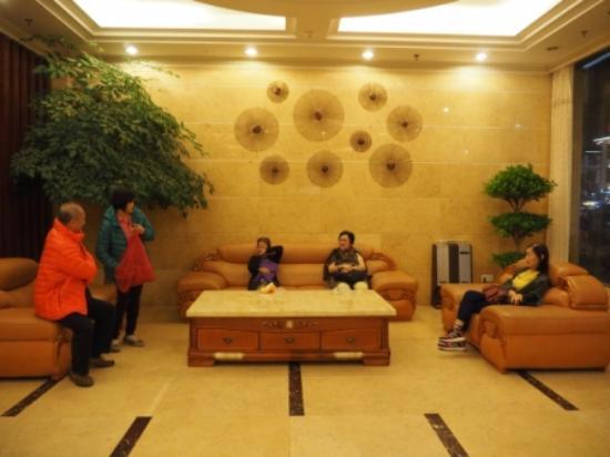 Wuyi Shan, الصين: Seating area