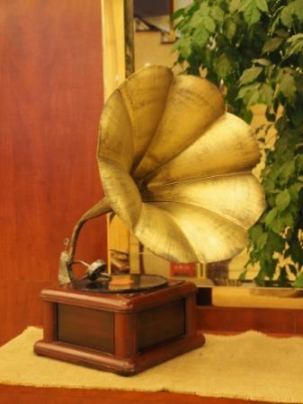 Wuyi Shan, الصين: gramaphone