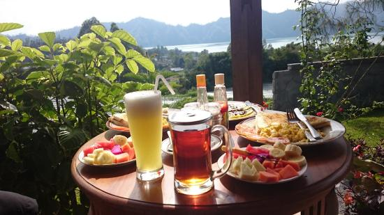 Mapa Lake View Bungalow: Breakfast with amazing view of the lake and farm land