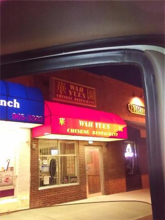 Wah Yuen Restaurant Chinese Sunburo Ohio Taken From Inside My Vehicle