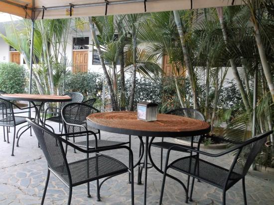 Hotel Frontera: Nous y avons pris le souper