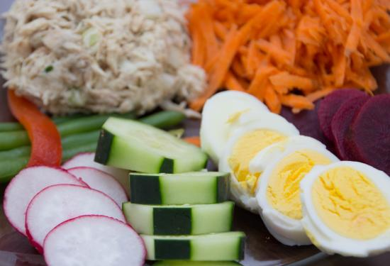 Bloomfield, Nowy Jork: Spring Tuna Salad