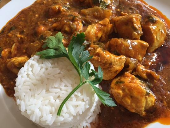 Cramlington, UK: Have you ever seen a curry like this?
