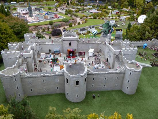 Castle and dragon attack - Picture of Babbacombe Model Village ...