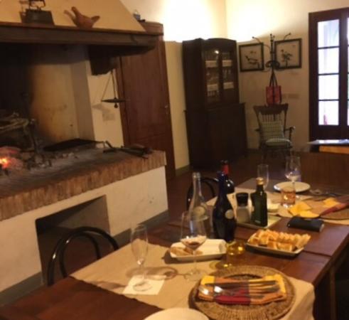 Terricciola, Italia: Wonderful restaurant