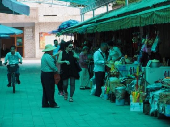 Mei County, Çin: Shops