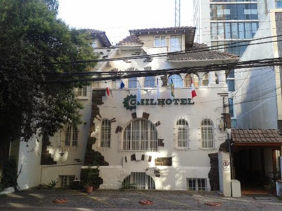 Chilhotel : Fachada del Hotel