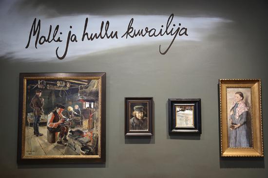 Δυτική Φινλανδία, Φινλανδία: Gösta / Estate - interior - exhibition area