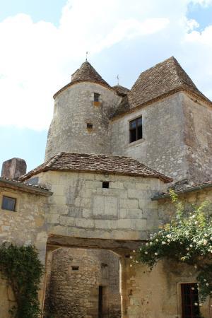 Saint-Michel-de-Montaigne, Francia: La Tour et les rosiers