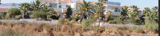 Skala Kallonis, Greece: Hotel vue de l'exterieur