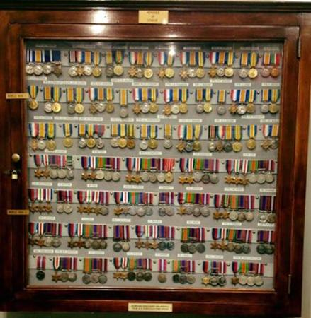Kingsville, Canada: Military Medal Display