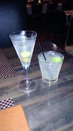 Luna Modern Mexican Kitchen : Great martini & margarita to start!