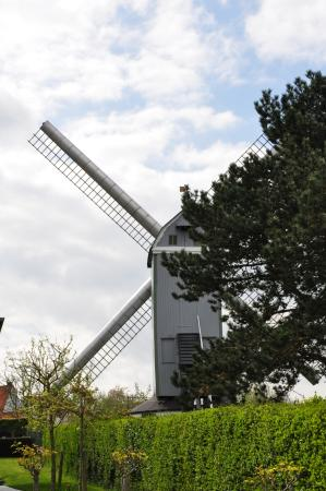 Mortiers Molen: Street view on the back.