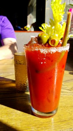 Rufus, OR: Awesome bloody Mary!!!