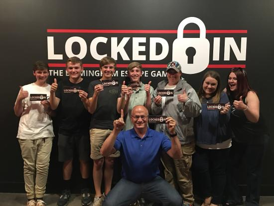 ‪Locked In: The Birmingham Escape Game‬