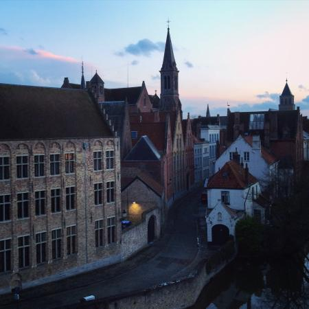 in frond of the hotel picture of europ hotel bruges tripadvisor rh tripadvisor co za