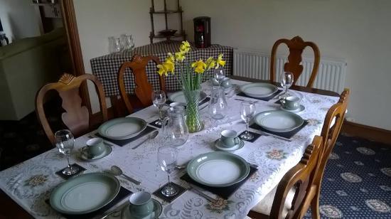 Port Erin, UK: Dining Room