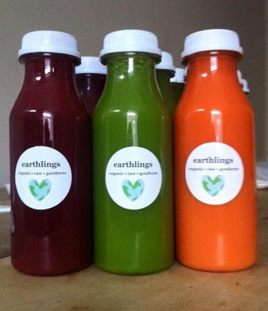 Bolton, UK: Organic, cold press juices