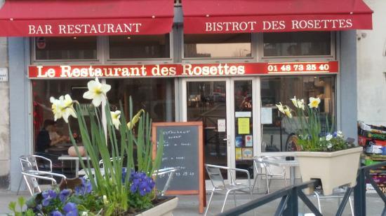 Fontenay-sous-Bois, França: le bistrot des rosettes
