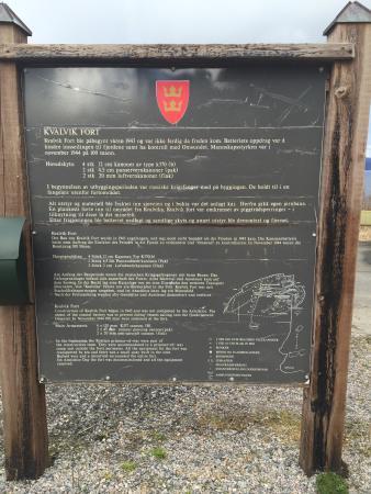 Kristiansund, Noruega: Kvalvik Fort