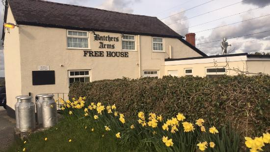 Nercwys, UK: The Butchers Arms