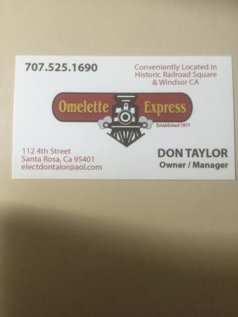 Don Taylor's Omelette Express: photo0.jpg
