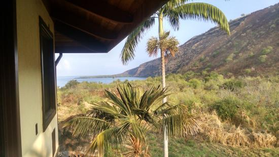 Kealakekua Bay Bed & Breakfast: View from private lanai (Ali'i room)