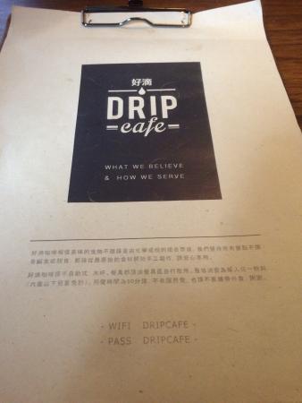 Drip Cafe Zhongzheng
