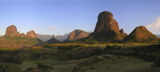 Gonder, Etiopia: Simien Mountains