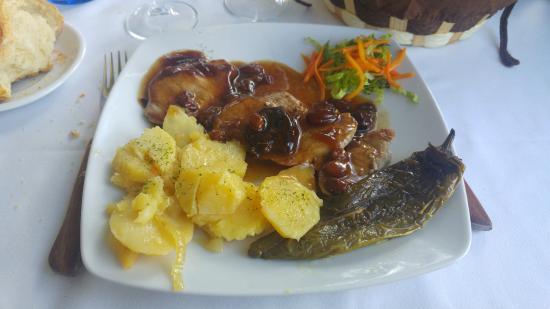 Solomillo (salsa dulzona)