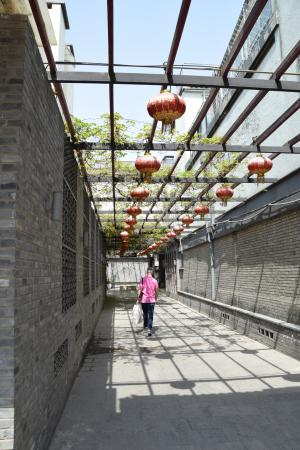 China Culture Tour Guilin One-day Tour: Entrance to hotel in the hutongs in Beijing
