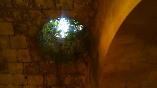 Blaye, Francia: Circuit des sousterrains.