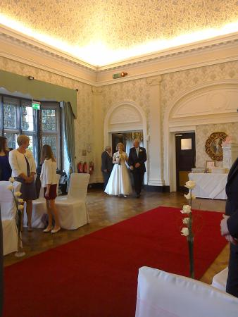 Dunchurch, UK: Wedding ceremony