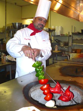 """Royal India Chef """"Baba"""" has more than four decades of experience in preparing authentic Indian f"""