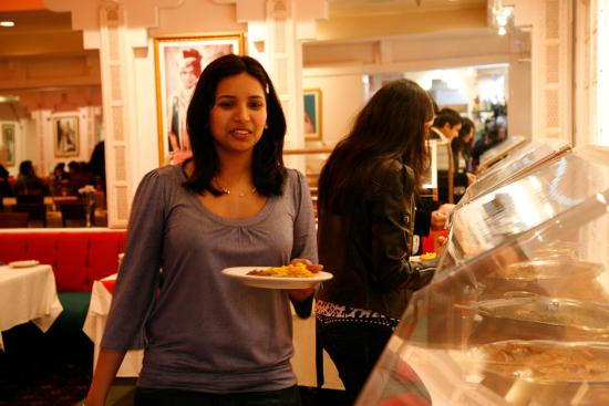 A view of Royal India buffet table. We stopped buffet after COVID-19 and offering lunch specials