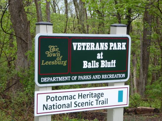 Veterans Park at Balls Bluff