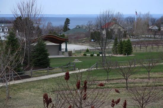 Door County, WI: The view from above Egg Harbor