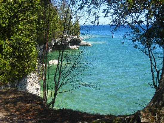 Door County, WI: Gorgeous Cave Point