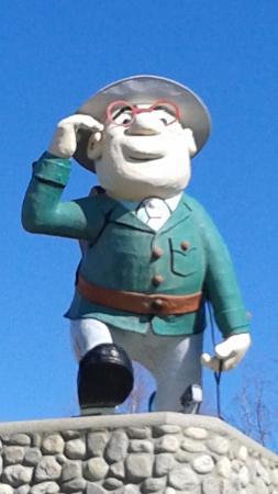 Flin Flon, Καναδάς: Flintabbaty Flonatin Statue