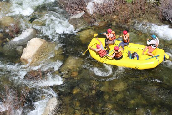 Three Rivers, Kalifornien: Rafting fun!