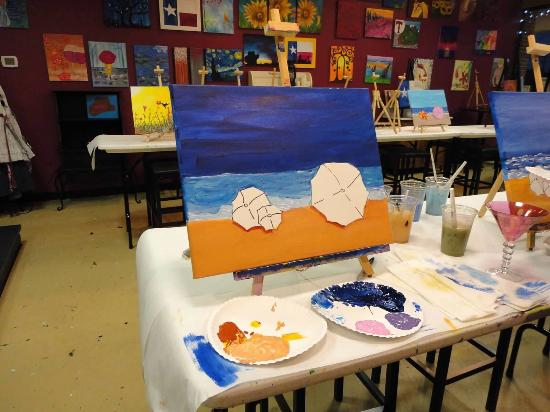 Colleyville, TX: Paint And Sip With Friends