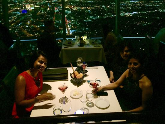 Birthday Dinner Picture Of Top Of The World Las Vegas