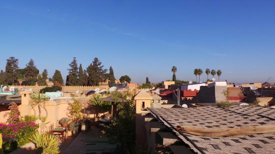 Dar Mouassine: vista dalla terrazza