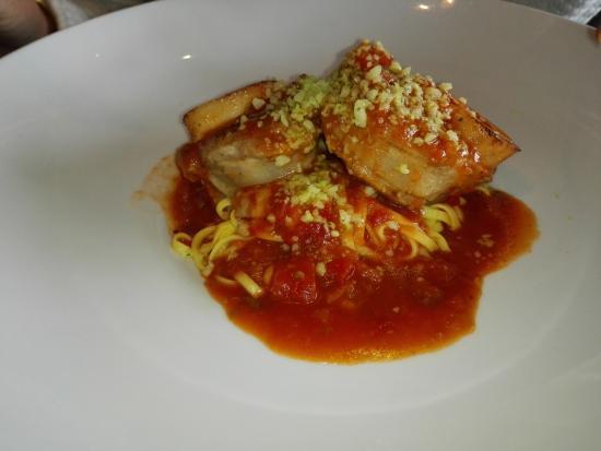 Tijdok restaurant: Osso bucco met gremolata en pasta