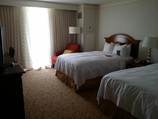 Washington Dulles Airport Marriott: Comfortable Beds