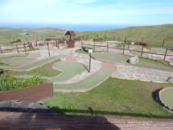 Great Orme: The putting course